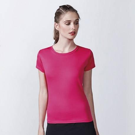 camisetas técnicas personalizadas para mujer