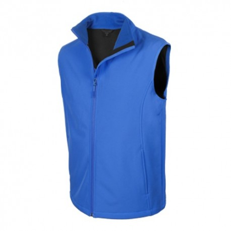 chalecos softshell personalizados azules